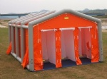 emergency inflatable shelter decontamination tent