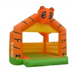 Cartoon tiger inflatable moonwalk/Cartoon Tiger Jumping Castle