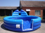outdoor inflatable foam pit for foam party