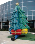 Christmas decoration giant inflatable tree outdoor