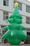Big Christmas tree inflatable outdoor for Xmas celebrating
