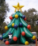 Outdoor inflatable Christmas decoration Xmas tree 2013