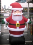 Outdoor giant santa claus inflatable Christmas holiday decoration
