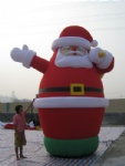 xmas santa inflatable big santa claus decoration