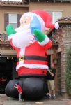inflatable santa claus Giant outdoor Decoration
