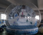 snow globe for Christmas holiday decoration