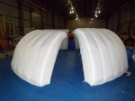 Inflatable Exhibition Clamshell building dome