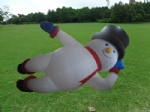 Christmas decoration inflatable the SNOWMAN outdoor decor for Xmas