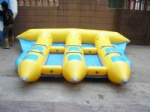 Inflatable water toys fly fish tube for 6 People