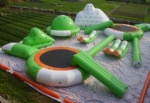 inflatable water sports amusement park