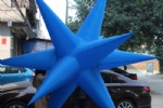 Colorfully lighting star for decor stage party pendent star lights