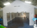 air tight frame PVC tarpaulin tent for party wedding outdoor events
