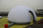 outdoor dome tent hemisphere portable inflatable tent double layer