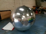 Inflatable mirror ball reflection ball