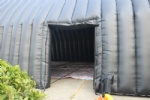 Car cover and storage tent inflatable garage