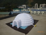 inflatable dome building bubble tent