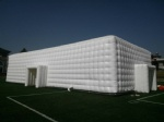 white cube inflatable bubble tent big for concert party