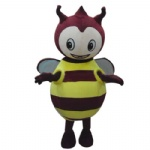 Mascot Costume Bee Cartoon character fancy dress