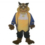 Beaty and beast Disney character mascot costumes