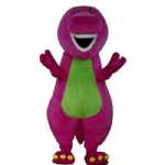 Barney the dinosaur Mascot costumes for cartoon character