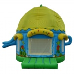 Tea pot inflatable bounce house