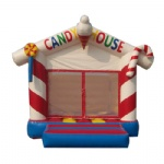 candy house inflatable bouncy castle