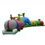 inflatable tunnel: Caterpillar Maze, Inflatable train tunnel