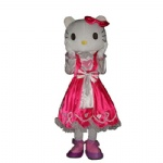 Hello kitty mascot costume for adult