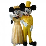 Weddding Mickey and minnie Disney Cartoon Costumes