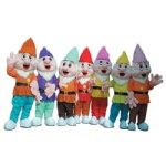 the Seven Dwarfs New Disney Mascot costume
