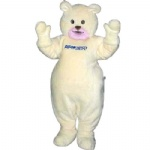 Breezy Polar Bear Mascot