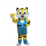 Tigger cartoon character Mascot Costume