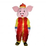 Pig cartoon Mascot Costume