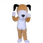 Snoopy dog mascot costume
