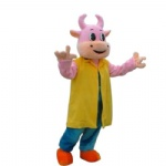 cow cartoon character mascot costumes