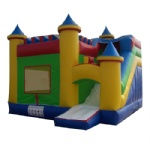 Amusement center inflatable castle