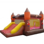 coffee drink inflatable castle