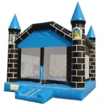 Sleeping Beauty inflatable castle