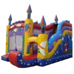 CS-069-new inflatable castle jumper with slide,inflatable bounce castle
