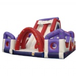 inflatable slide & obstacle course