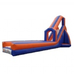 dry & wet inflatable slide