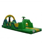 green word inflatable obstacle/ inflatable interactive