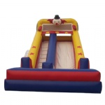 clown show inflatable slide /circus time inflatable slide