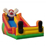 rednose clown inflatable slide / happy circus inflatable slide