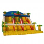jungle and Dinosaurs inflatable slide /Jurassic Park inflatable slide