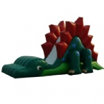 Stegosaurus inflatable slide