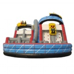 roller coaster inflatable slide
