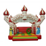 prince & princess inflatable bouncy castle