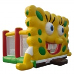 Sponge bob inflatable bouncer