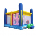 colorful inflatable bouncer